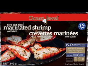 Ocean Jewel Herb & Garlic Marinated Shrimp